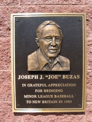 "Joseph J. ""Joe"" Buzas Marker image. Click for full size."