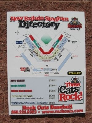 New Britain Stadium and Rock Cats Baseball image. Click for full size.