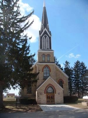 Western Koshkonong Lutheran Church image. Click for full size.