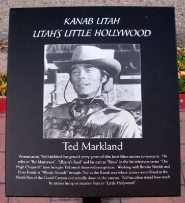 Ted Markland Marker image. Click for full size.