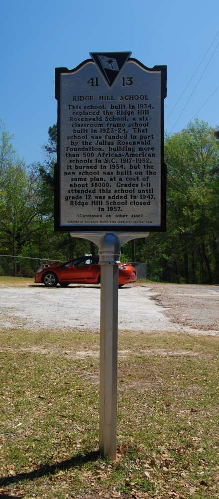 Ridge Hill School Marker