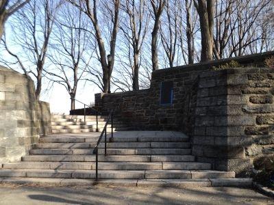 Fort tryon park historical marker for 1 garden terrace north arlington nj
