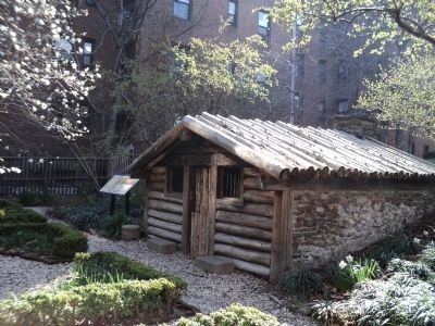 Hessian Military Hut at the the Dyckman Farmhouse image. Click for full size.