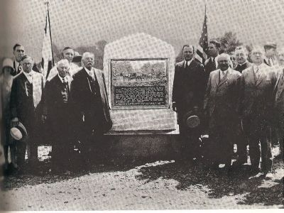 Marker Dedication Ceremony image. Click for full size.