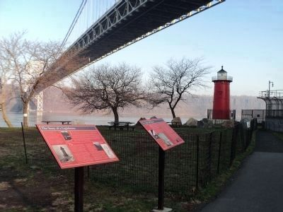 Marker and the Lighthouse Photo, Click for full size