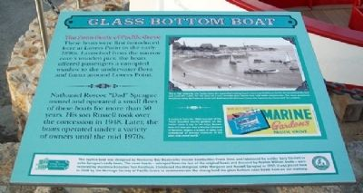 Glass Bottom Boat Marker Photo, Click for full size
