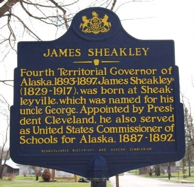 James Sheakley Marker image. Click for full size.