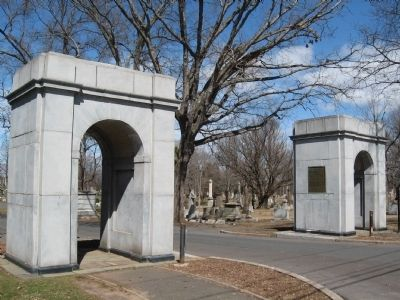 Entrance to Fairview Cemetery image. Click for full size.