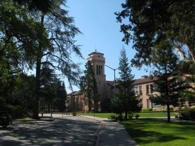 Sequoia High School Main Building and Tower image. Click for full size.