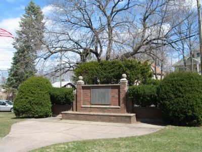 Belvidere Area WWII Veterans Monument image. Click for full size.