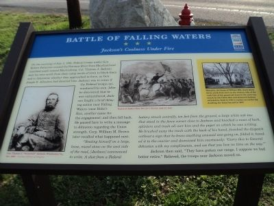 Battle of Falling Waters Marker image. Click for full size.