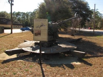 M1A1 90mm Anti-Aircraft Gun Marker image. Click for full size.