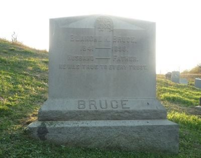 Bruce Family Monument, Woodlawn Cemetery image. Click for full size.
