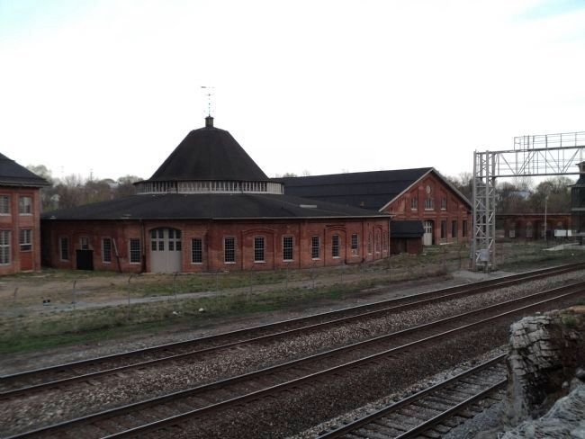 Martinsburg Roundhouse Photo, Click for full size