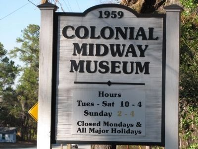 Colonial Midway Museum image. Click for full size.