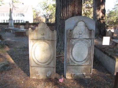 General Daniel Stewart and wife grave image. Click for full size.