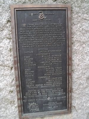 The Spirit of 1775 Marker Photo, Click for full size