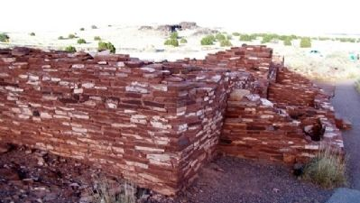 Nalakihu Pueblo Ruins Photo, Click for full size