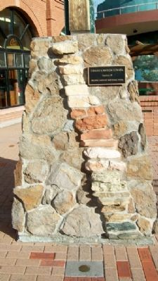 Grand Canyon Strata Display on Heritage Square image. Click for full size.