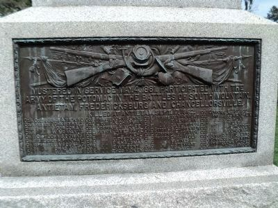 4th New York Volunteer Infantry Marker (Lower Plaque) image. Click for full size.