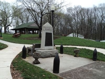 Marker in Taylor Park image. Click for full size.