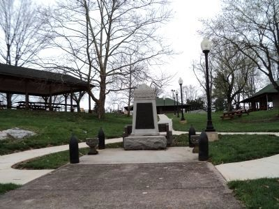 Keedysville WWI Memorial image. Click for full size.