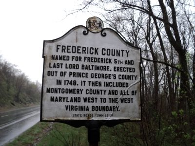 Frederick County / Washington County Marker image. Click for full size.