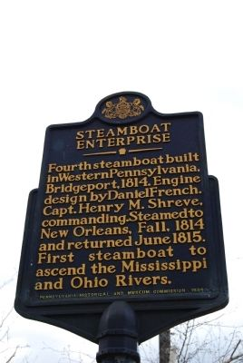 Steamboat Enterprise Marker image. Click for full size.
