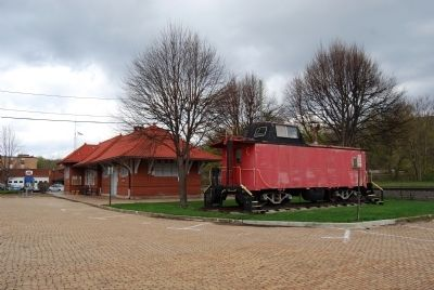 Train Caboose image. Click for full size.