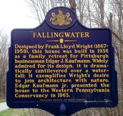Fallingwater Marker image. Click for full size.