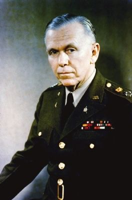 General George C. Marshall image. Click for full size.