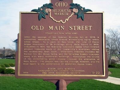 Old Main Street Marker image. Click for full size.