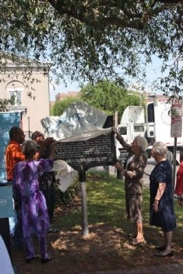 Jonathan Bryan Marker Unveiling 4/19/2011 image. Click for full size.