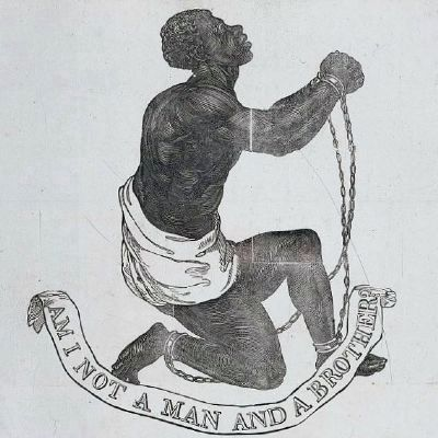 Am I Not a Man and a Brother, ca. 1789 image. Click for full size.