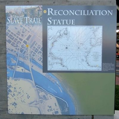 Reconciliation Statue Marker (south panel) image. Click for full size.