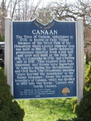 Canaan Marker image. Click for full size.