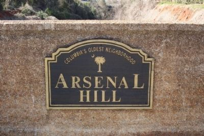"Arsenal Hill Marker "" Columbia's Oldest Neighborhood"" image. Click for full size."