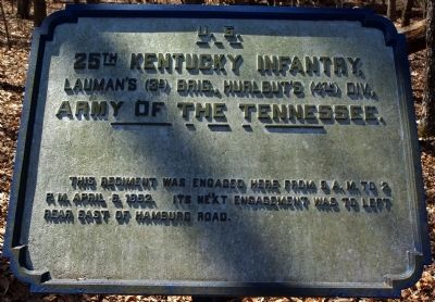 25th Kentucky Infantry Marker image. Click for full size.