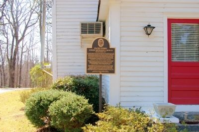 Paces Ferry United Methodist Church Marker image. Click for full size.