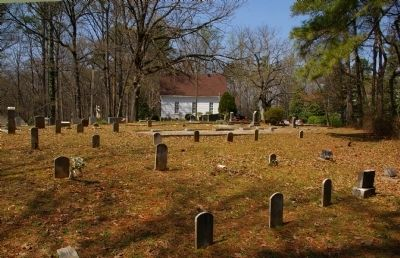 Pleasant Hill Cemetery and Paces Ferry United Methodist Church image. Click for full size.