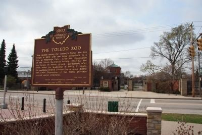 The Toledo Zoo / The New Deal in Toledo Marker image. Click for full size.