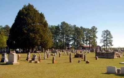 Spann Methodist Church Cemetery image. Click for full size.