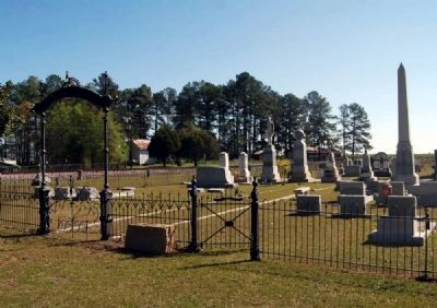Spann Methodist Church Cemetery -<br>Ward-Satcher Section image. Click for full size.