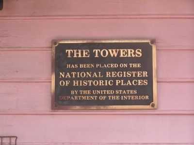 The Towers Marker image. Click for full size.