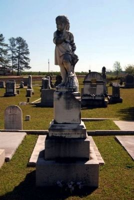 Josephine Ward Tombstone image. Click for full size.