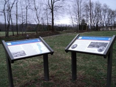 Markers at Fox�s Gap image. Click for full size.
