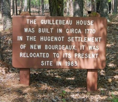 The Guillebeau House Marker Photo, Click for full size