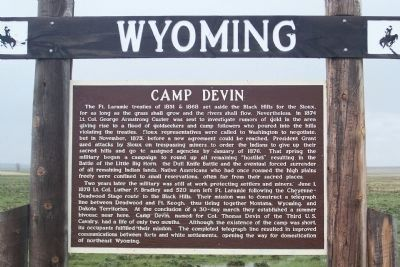 Camp Devin Marker image. Click for full size.