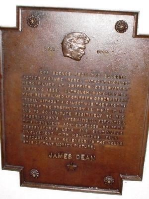 James Dean Marker image. Click for full size.