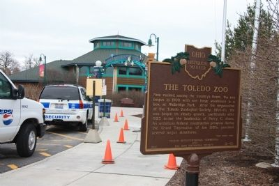 The Toledo Zoo / Toledo's Canals Marker image. Click for full size.